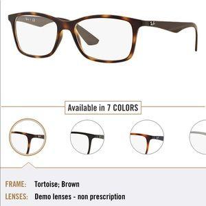 Ray ban Tortoise brown Squared eyeglass frame
